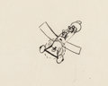 Animation Art:Production Drawing, Plane Crazy Mickey Mouse and Minnie Animation Drawing by Ub Iwerks (Walt Disney, 1928-29)....