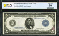 Fr. 875b $5 1914 Federal Reserve Note PCGS Banknote Very Fine 30