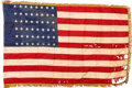 Military & Patriotic:WWII, U.S. 30th Infantry Regiment of the 3rd Division National Color. ...