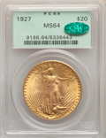 1927 $20 MS64 PCGS. CAC. PCGS Population: (52654/36639). NGC Census: (54259/23891). CDN: $1,823.87.Whsle. Bid for NGC/PC...