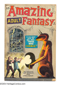 Silver Age (1956-1969):Mystery, Amazing Adult Fantasy #10 (Marvel, 1962) Condition: GD/VG. SteveDitko cover and art. Overstreet 2004 GD 2.0 value = $39; VG...