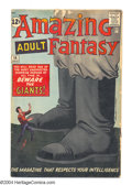 Silver Age (1956-1969):Mystery, Amazing Adult Fantasy #14 (Marvel, 1962) Condition: GD/VG. Containsa Professor X prototype. Steve Ditko cover and art. Over...