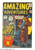 Silver Age (1956-1969):Horror, Amazing Adventures #4 (Marvel, 1961) Condition: VG. Jack Kirby andDick Ayers cover art. Steve Ditko, Kirby, and Ayers inter...