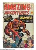 Silver Age (1956-1969):Horror, Amazing Adventures #5 (Marvel, 1961) Condition: VG+. Jack Kirby andSteve Ditko cover art. Don Heck, Dick Ayers, Ditko, and ...