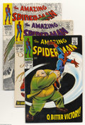 Silver Age (1956-1969):Superhero, Amazing Spider-Man Group (Marvel, 1968-69) Condition: Average VF. This group includes #60, 62, 64, 67, and 68. The Kingpin, ... (Total: 5 Comic Books Item)