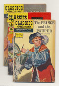 Silver Age (1956-1969):Classics Illustrated, Classics Illustrated Group (Gilberton, 1955-65) Condition: AverageVG. This lot consists of issues #22 (The Pathfinder); 29 ...(Total: 9 Comic Books Item)