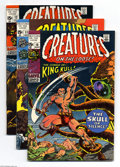 Bronze Age (1970-1979):Horror, Creatures on the Loose Group (Marvel, 1971-74) Condition: AverageFN. This group includes # 10 (first full appearance of Kin...(Total: 11 Comic Books Item)