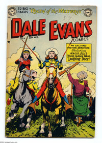 """Dale Evans Comics #18 (DC, 1951) Condition: VG. Rated """"uncommon"""" by Gerber's Photo-Journal. Overstreet 2004 VF..."""