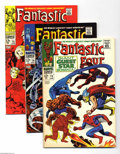 Silver Age (1956-1969):Superhero, Fantastic Four Group (Marvel, 1968) Condition: VF. Stan Lee and Jack Kirby were on a roll in 1968, and the great stories kep... (Total: 8 Comic Books Item)