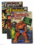 """Silver Age (1956-1969):Superhero, Fantastic Four #51-56 Group (Marvel, 1966) Condition: Average FN. Issues #51 (the famous """"This Man... This Monster"""" story), ... (Total: 6 Comic Books Item)"""