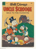 Golden Age (1938-1955):Cartoon Character, Four Color #456 Uncle Scrooge (Dell, 1953 Condition: GD+.Overstreet considers this issue to be Uncle Scrooge #2. Carl B...