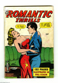 Golden Age (1938-1955):Romance, Fox Giants Romantic Thrills (Fox Features Syndicate, 1950)Condition: GD. Overstreet 2004 GD 2.0 value = $39....