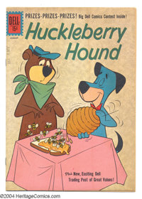 Huckleberry Hound #14 (Dell, 1961) Condition: VF/NM. Overstreet 2004 VF/NM 9.0 value = $48; NM- 9.2 value = $60