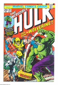 Bronze Age (1970-1979):Superhero, The Incredible Hulk #181 (Marvel, 1974) Condition: Qualified VF+. Listed as the #1 most valuable Bronze Age comic by Overstr...
