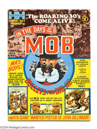 In the Days of the Mob #1 (Hampshire Distributors, 1971) Condition: FN. Jack Kirby art. No insert poster. (Overstreet no...