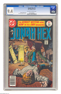 Jonah Hex #1 (DC, 1977) CGC NM 9.4 Off-white to white pages. Jose Luis Garcia-Lopez cover and art. Overstreet 2004 NM- 9...