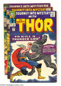 Silver Age (1956-1969):Superhero, Journey Into Mystery #118-125 Thor Group (Marvel, 1965) Condition: Average FN/VF. This group consists of eight comics: #118 ... (Total: 8 Comic Books Item)