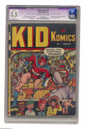 Golden Age (1938-1955):Superhero, Kid Komics #1 (Timely, 1943) CGC Apparent VG- 3.5 Slight (A) Cream to off-white pages. Origin and first appearance of Captai...