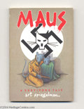 Modern Age (1980-Present):Alternative/Underground, Maus #1 and 2 Group (Pantheon Books, 1986-91) Condition: Average FN. Trade paperback editions of the award-winning series by... (Total: 2 Comic Books Item)