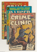 Golden Age (1938-1955):Miscellaneous, Miscellaneous Crime Comics Group (Various, 1948-54) Condition: Average VG. This lot consists of Authentic Police Cases #... (Total: 8 Comic Books Item)