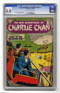 Silver Age (1956-1969):Mystery, The New Adventures of Charlie Chan #4 (DC, 1958) CGC FN 6.0 Creamto off-white pages. Sid Greene cover art. Gil Kane and Gre...