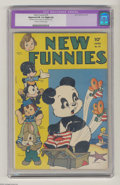 Golden Age (1938-1955):Funny Animal, New Funnies #76 (Dell, 1943) CGC Apparent FN 6.0 Cream to off-whitepages. Andy Panda, featuring Carl Barks art. Woody Woodp...