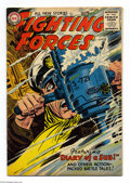 Silver Age (1956-1969):War, Our Fighting Forces #11 (DC, 1956) Condition: VG. Jerry Grandenetti cover. Grandenetti and Joe Kubert art. Overstreet 2004 V...