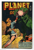 Golden Age (1938-1955):Science Fiction, Planet Comics #47 (Fiction House, 1947) Condition: FN. Joe Doolincover. Murphy Anderson, Lily Renee, Bob Lubbers, George Ev...