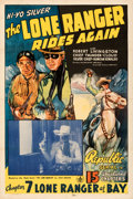Movie Posters:Serial, The Lone Ranger Rides Again (Republic, 1939). Fine/Very Fi...