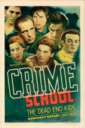 "Movie Posters:Crime, Crime School (Warner Bros., 1938). Folded, Very Fine. One Sheet (27"" X 41"").. ..."