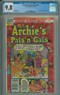 Archie's Pals 'n' Gals #161 (Archie, 1982) CGC NM/MT 9.8 White pages