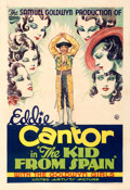 """Movie Posters:Comedy, The Kid from Spain (United Artists, 1932). Very Fine- on Linen. One Sheet (27"""" X 41"""").. ..."""