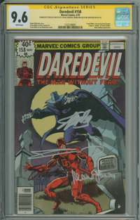 Daredevil #158 (Marvel, 1979) CGC NM+ 9.6 White pages