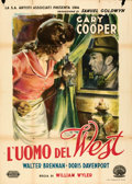 Movie Posters:Western, The Westerner (United Artists, 1947). Folded, N/A....