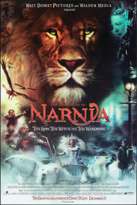 The Chronicles of Narnia: The Lion, the Witch and the Wardrobe (Buena Vista, 2005). Very Fine-. Lenticular One Sheet (27...