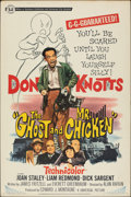 """Movie Posters:Comedy, The Ghost and Mr. Chicken (Universal, 1966). Rolled, Fine/Very Fine. Poster (40"""" X 60""""). Comedy.. ..."""