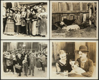 """A Dog's Life (First National, 1918). Very Fine-. Lobby Cards (4) (8"""" X 10""""). Comedy. ... (Total: 4 Items)"""