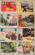 Movie Posters:Drama, The Young and the Brave & Other Lot (MGM, 1963). Overall: Fine. Lobby Cards (53), Lobby Card Sets of 8 (5 Sets), & Title Lob... (Total: 98 Items)