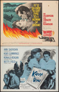 """Movie Posters:Drama, Kings Row & Other Lot (Dominant Pictures, R-1956). Rolled and Folded, Fine/Very Fine. Half Sheets (22) (22"""" X 28""""). Drama.. ... (Total: 22 Items)"""