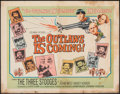 "Movie Posters:Comedy, The Outlaws is Coming (Columbia, 1965). Folded, Fine. Half Sheet (22"" X 28""). Comedy.. ..."