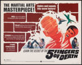 "Movie Posters:Action, Five Fingers of Death & Other Lot (Warner Bros., 1973). Rolled, Fine/Very Fine. Half Sheet (22"" X 28""). Action.. ... (Total: 4 Items)"
