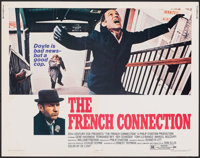 """The French Connection (20th Century Fox, 1971). Rolled, Fine+. Half Sheet (22"""" X 28""""). Action"""
