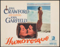 """Movie Posters:Romance, Humoresque (Warner Bros., 1946). Very Fine. Title Lobby Card (11"""" X 14""""). Romance.. ..."""