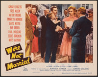 """We're Not Married (20th Century Fox, 1952). Very Fine-. Lobby Card (11"""" X 14""""). Comedy"""