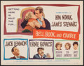 """Movie Posters:Romance, Bell, Book and Candle (Columbia, 1958). Very Fine/Near Mint. Title Lobby Card (11"""" X 14""""). Romance.. ..."""
