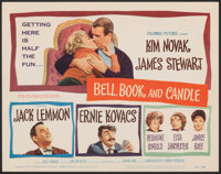 """Bell, Book and Candle (Columbia, 1958). Very Fine/Near Mint. Title Lobby Card (11"""" X 14""""). Romance"""
