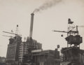 Photographs:Gelatin Silver, Ben Heller (American, b. 1913). Burns Brothers, 38th and 1st, New York City. Gelatin silver. 7-1/4 x 9-1/4 inches (18.4 ...
