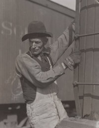 Lewis Wickes Hine (American, 1874-1940) Untitled, circa 1923 Gelatin silver, printed later 4-3/4