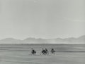 Photographs, Manuel Álvarez Bravo (Mexican, 1902-2002). Bicycles on Sunday, 1966. Gelatin silver, printed later. 7-1/4 x 9-1/2 inches...