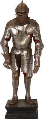 A Composite Full Suit of Armor, Second Half of the 16th Century